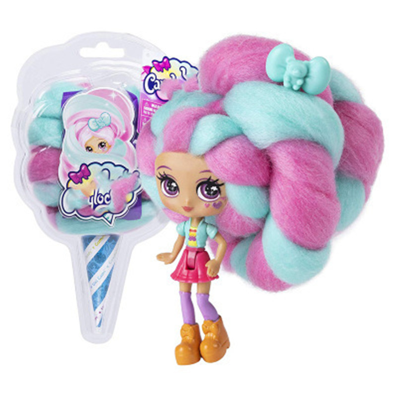 Candylocks Sweet Treat Toys Hobbies Dolls Accessories Marshmallow Reissue Hair 40cm Surprise Hairstyle With Scented Doll