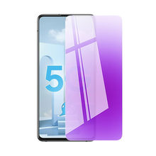 Protector de pantalla de vidrio templado para Samsung Galaxy, Protector de pantalla de vidrio templado azul para Samsung Galaxy A32 A42 A52 A52 A82 A32 4G 5G