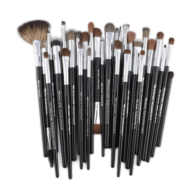 Pro Makeup brushes Eyeshadow detail eye make up brush Concealer highlight smudge crease blending shadow eyebrow liner Lip 2