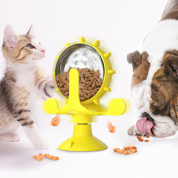 Treat Wheel For Cats & Dogs Pet Feeder 1