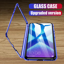 Metal Magnetic Adsorption Case For Huawei P30 P20 Lite Pro P10 Plus Case For Huawei Mate 20 10 Lite Pro Nova 3 3i 3e Cover Case(China)