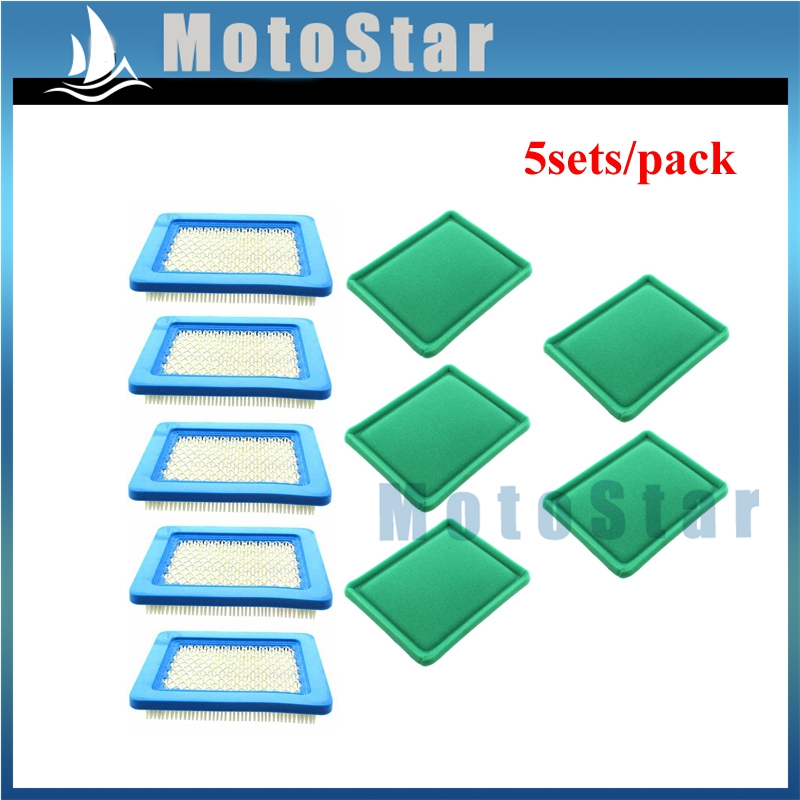 replacement Air Filters Multi-funcyion Parts 5687301 5pcs for Ryobi for Toro