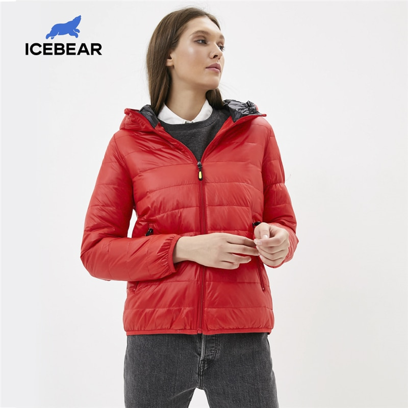ICEbear 2020 New Women Lightweight Down Jacket Stylish Casual Spring Jacket Brand parka GWY19151D|Down Coats| - AliExpress