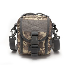 Outdoor Tactical Messenger Bag  Multifunction Military Crossbody Molle Camping Hiking Pouch