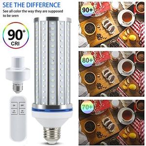 Image 2 - Portable Ultraviolet Light Bulb UV Sterilizer 100W UV Germicidal Lamp UVC E27 LED Sterilization Light Home Clean Air Kill Mites