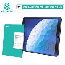 Nillkin luz azul filtro de vidro para ipad 9.7 2017/mini 4/pro 11 2020/pro 12.9 2018/10.2/10.5/ar 2019 protetor de tela