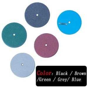 Image 4 - 100Pcs Assorted Dental Lab Polishing Wheels Burs Silicone Rubber Polishers    5 Colors