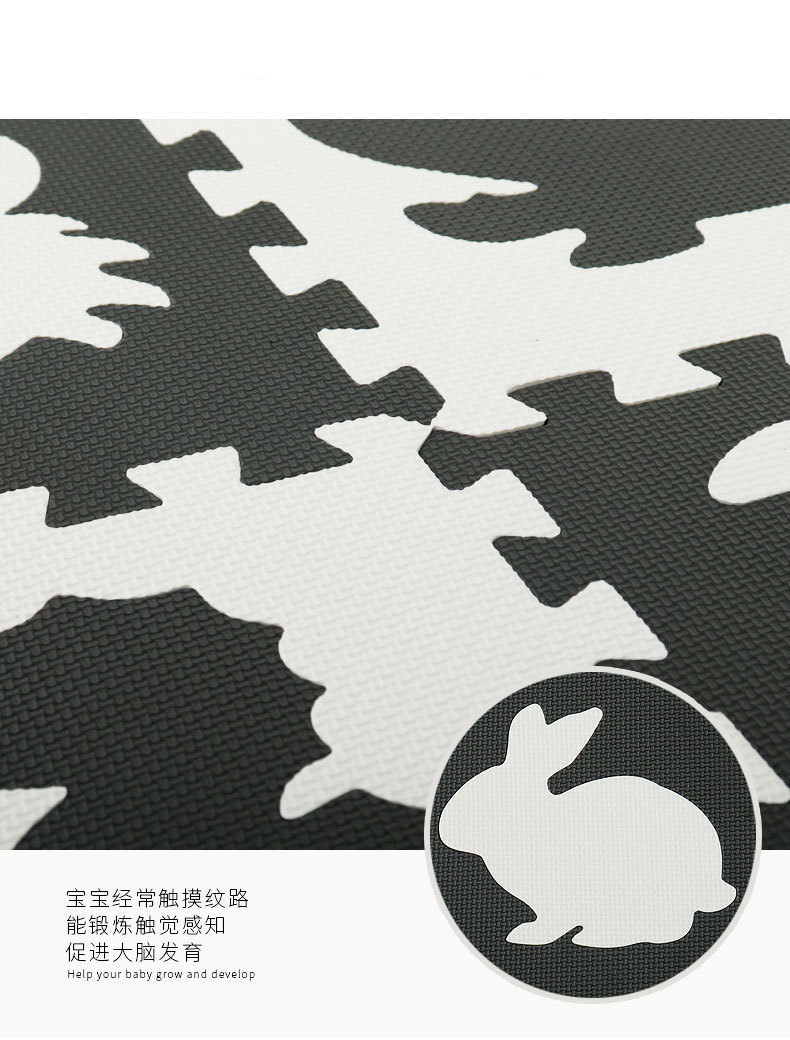 H769daf415e0c494d9da47b5c231fc4a3R EVA Foam Play Mat with Fence Baby Puzzle Jigsaw Floor Mats Thick Carpet Pad Toys For Kids Educational Toys Activity Pad