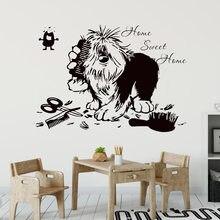 Poter Y351 – autocollant mural en vinyle avec citation de chien, décoration de la maison, Salon de toilettage, animalerie, décor artistique, fenêtre de boutique