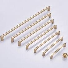 NAIERDI solide en alliage de Zinc or armoire poignées pour meubles tiroir boutons armoire tire décoratif décor à la maison matériel