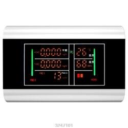 6 w 1 USB akumulator powietrza monitor jakości PM2.5 temperatury HCHO TVOC wilgotności detektor benzenu cyfrowy wyświetlacz LCD w Analizatory gazu od Narzędzia na