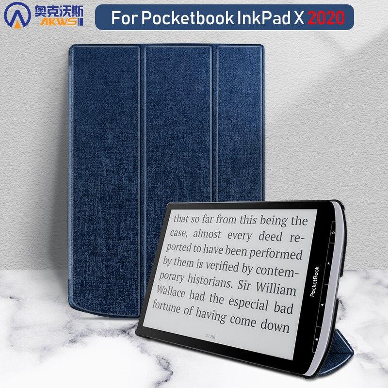 Slim Case For Pocketbook Inkpad X 2020 Funda Cover For Pocketbook X 2020 For Pocketbook Inkpad 10.3 2020 Magnetic Folding Capa