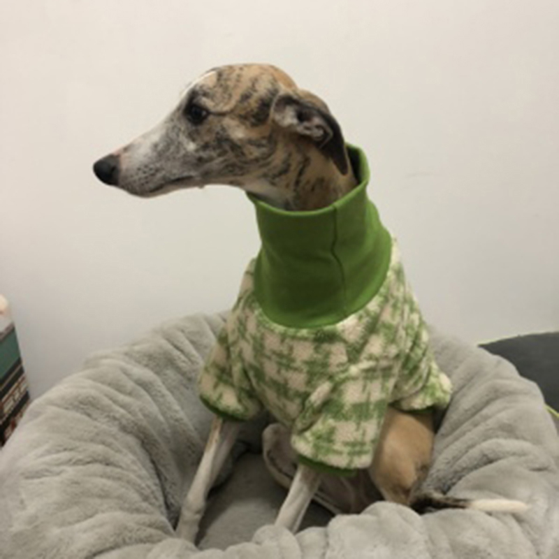 Dog clothes lamb fur high neck long sleeve two-legged clothes, dog winter warm coat/greyhound/shiba/big dog clothes