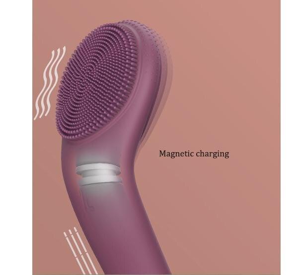 Gesichtsreiniger Wiederaufladbare Elektrische gesicht pinsel Reinigung pinsel Poren Reinigung Gerät Wasserdicht 4 Pinsel Köpfe 2 Getriebe - 3