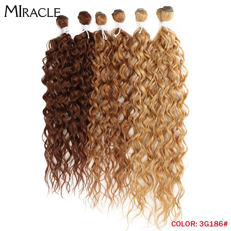 pçs resistente ao calor do cabelo encaracolado para preto