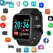Relógio inteligente 2021 mulheres homens de fitness rastreador monitor smartwatch esporte à prova dwaterproof água relógio eletrônico para android ios smart-watch hora