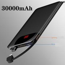 Водонепроницаемый портативный USB внешний аккумулятор 10000 мАч для всех смартфонов Xiaomi IPhone, внешний аккумулятор, быстрая зарядка, внешний аккумулятор