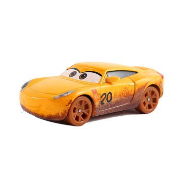 Disney Pixar 38 Style Cars 3 New Lightning McQueen Jackson Storm Diecast Metal Car Model Birthday Gift Toy For Children's image