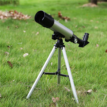 цена на Professional Outdoor HD Monocular 150X Refractive Space Astronomical Telescope Travel Spotting Scope with Portable Tripod Lever