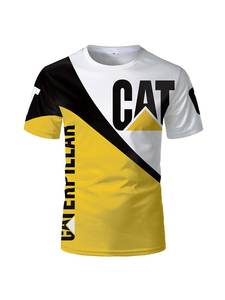3dt Shirt Tops Tees Short-Sleeve Caterpillar Printed Avatar Black Fashion Cotton Cartoon