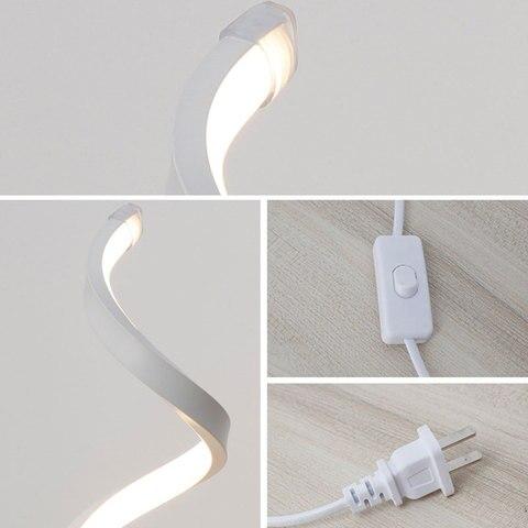 moda regulavel lampada de mesa decoracao da