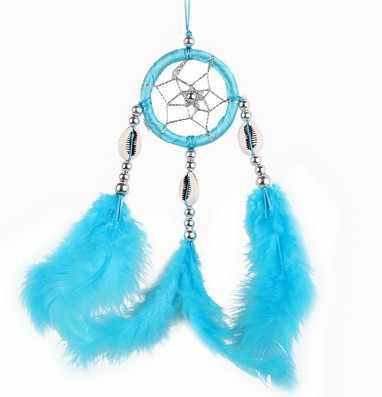 Индейский Новый одиночное кольцо зубы Мечта Чистая украшение дома креативный подарок большой Ловец снов колокольчик