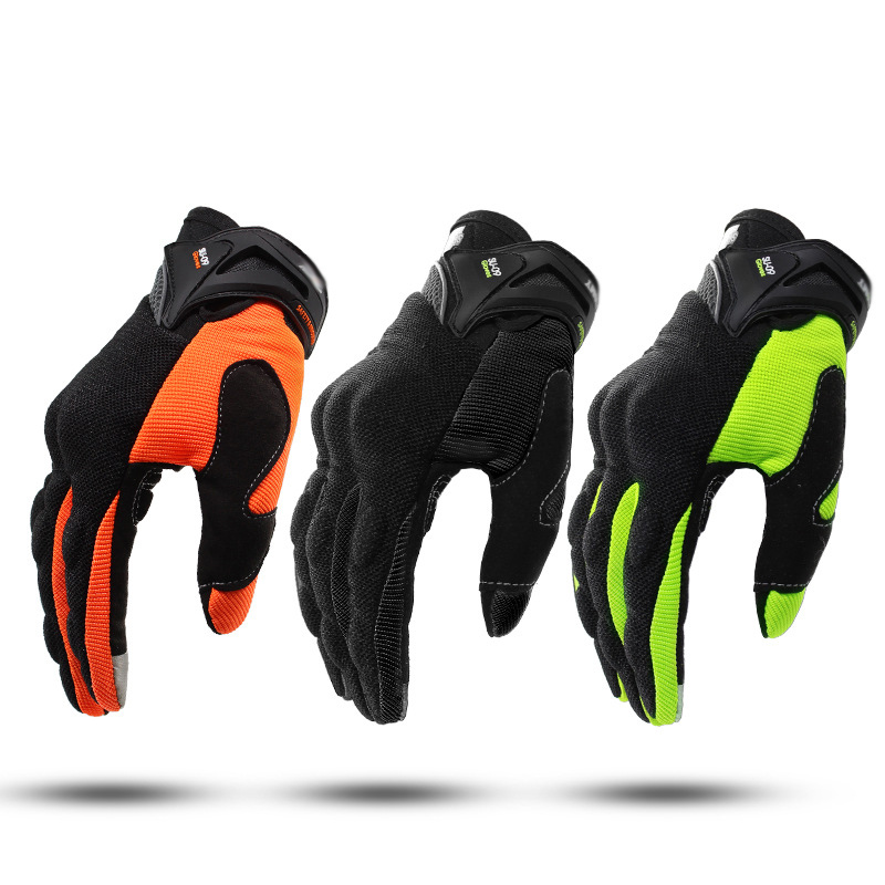 SUOMY новые Мотоциклетные Перчатки зеленые гоночные перчатки для мотокросса полный палец перчатки мужские перчатки без пальцев для мото Лето...