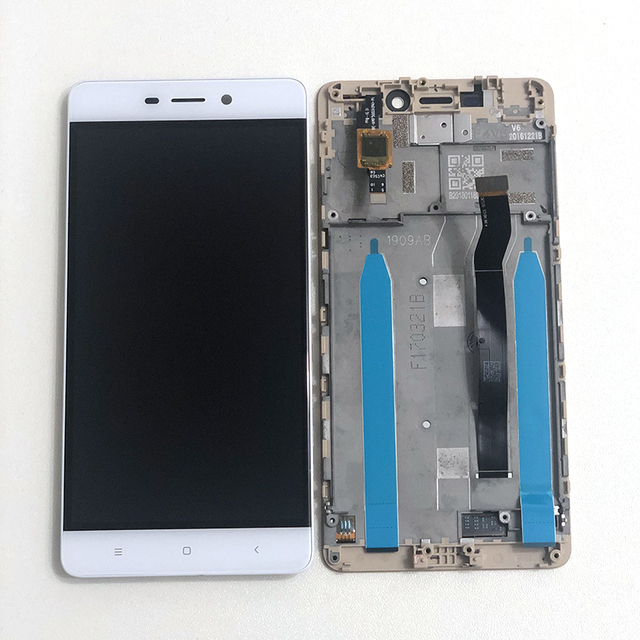 "5.0"" Original M&Sen For Xiaomi Redmi 4 (2GB RAM 16GB ROM) LCD Screen Display+Touch Panel Digitizer For Redmi 4 lcd Display Frame"