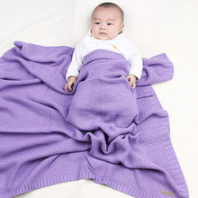 Get more info on the Knitted Swaddling Newborn Blankets Swaddle Wrap Super Soft Toddler Infant Bedding Quilt For Bed Sofa Stroller Accessory 80x100cm