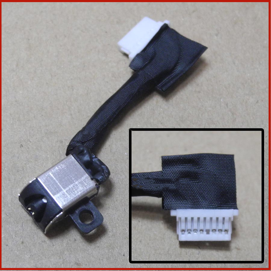 New DC Cable Power Jack Charging Cable Connector Port For <font><b>Dell</b></font> Inspiron <font><b>5584</b></font> image