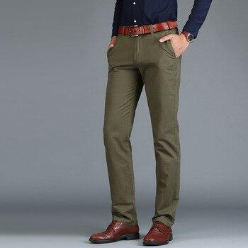 цена Men's Pants High Quality Suit Pants Men Dress Pants Men Business Trousers Office Casual Social Pants Men's Classic Pants онлайн в 2017 году