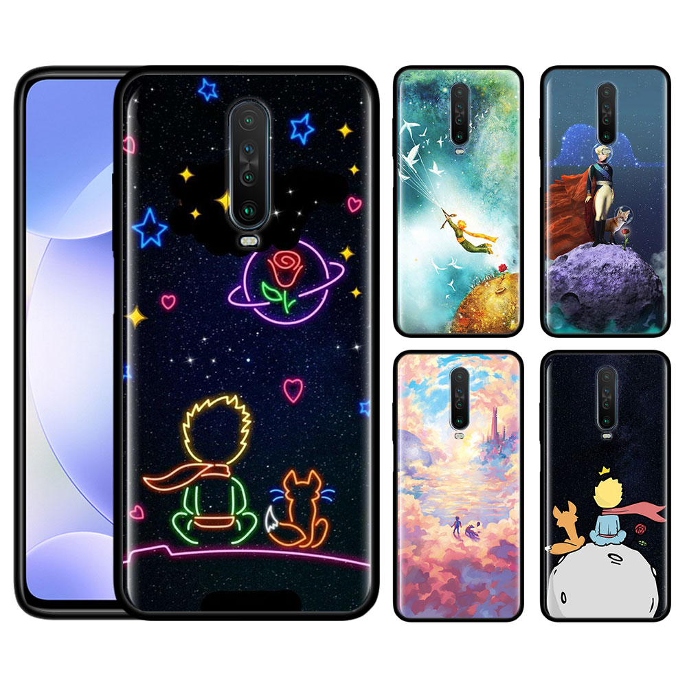 Case For Redmi Note 9 Pro 9S 9 9A 9C Note 8 8T 7 K20 K30 Pro 8 8A 7 7A 6A Soft Phone Shockproof Shell Little Prince Print