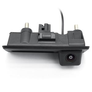 Image 3 - HD AHD 1080P 170 Grad Fisheye Objektiv Auto Hintere Ansicht rückseite Stamm Griff Kamera Für VW Passat Golf polo Jetta Audi A4 A6