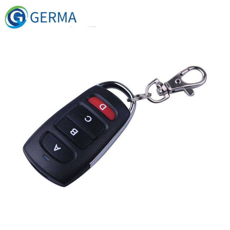GERMA RF ключ дистанционного управления 433 МГц клонирование Cloner умный электрический Дверь Гаража Пульт дистанционного управления замена ключа