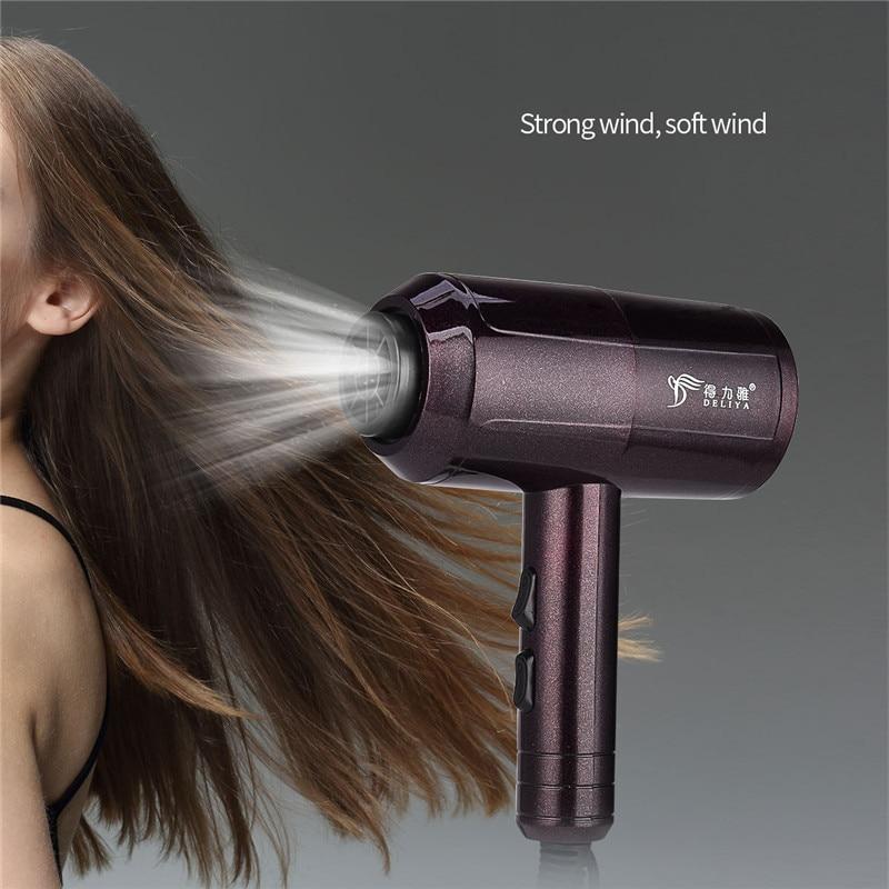 cabelo com difusor concentrador e ferramenta estilo