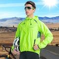 Santic, мужские куртки для велоспорта, ветровки, защита от солнца, UPF 50 +, куртки для велоспорта, дышащие, Азиатский Размер, K7M6034V