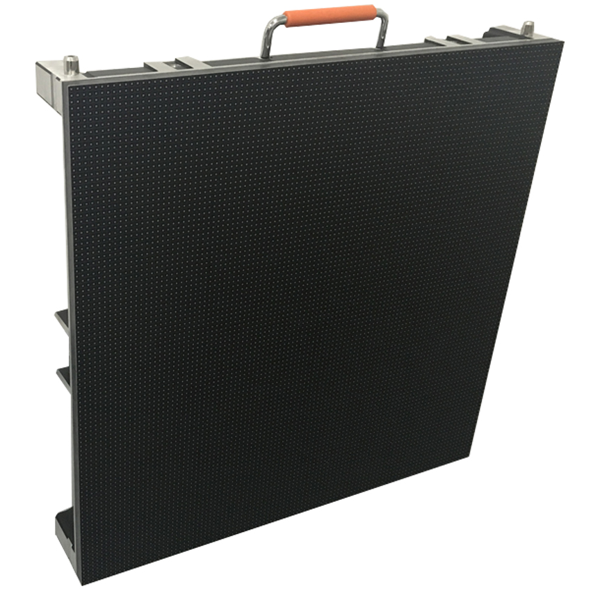Outdoor LED Display Panel 128*128pixel Die Cast Aluminum Cabinet, P3.91 SMD1921 RGB LED Video Wall Advertising Billboard Screen