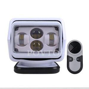 Светодиодный прожектор для морских внедорожников 4X4 ATV SUV UTV truck 1 комплект беспроводной светильник с устройством дистанционного управления