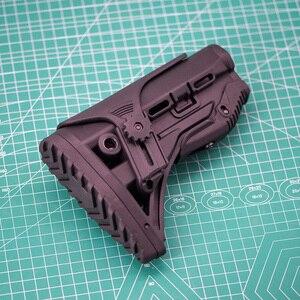 Image 3 - Freien Taktische Nylon Einstellbare Erweiterten Lager für Paintball Zubehör Airsoft Air Gun AEG M4 AK Gel Blaster J8 J9 CS sport
