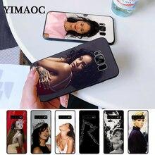 Robyn Rihanna Fenty Silicone Case for Samsung S6 Edge S7 S8 Plus S9 S10 S10e Note 8 9 10 M10 M20 M30
