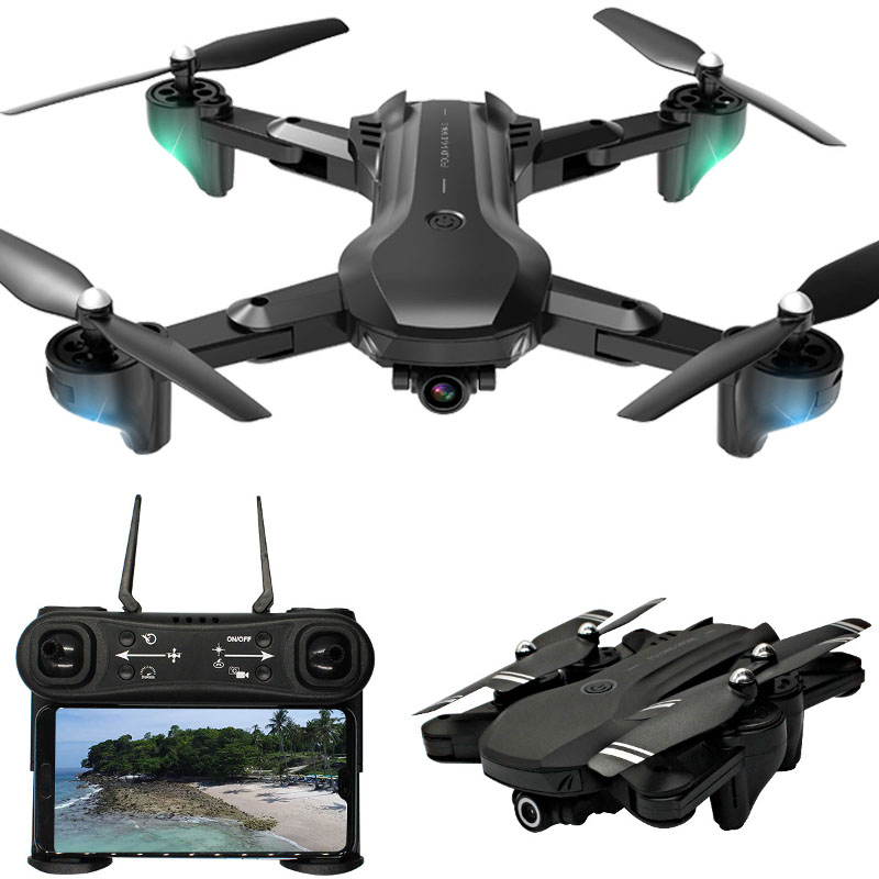 H12 WIFI FPV With 4K Dual HD Camera 25mins Flight Time Foldable Altitude Hold RC Quadcopter Drone RTF