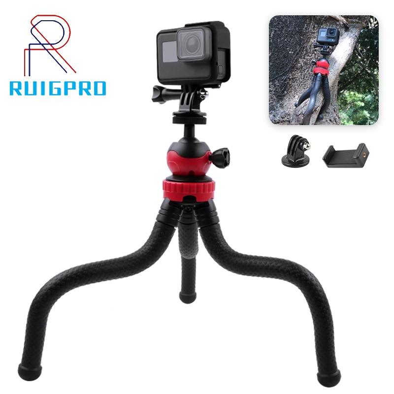 Portable Tripod Flexible Octopus Travel Mini Mobile Phone Tripod Bracket Monopod Selfie Stick For iPhone DSLR Camera Gopro