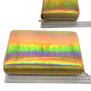 Image 5 - 216Slots Nail Stamping Plate Holder Rainbow Laser Design Round Square Rectangular Manicure Nail Art Plate Organizer Empty Case