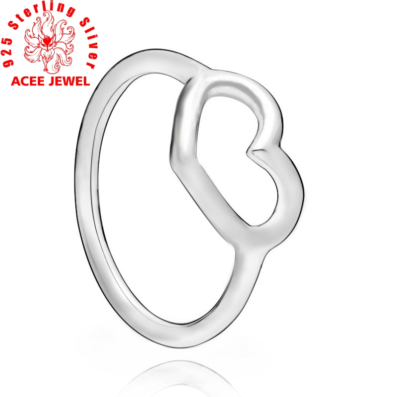 Authentic 925 Sterling Silver Rings Sparkling Angel Wing Ring Open Ring Women Engagement Jewelry Anniversary gift