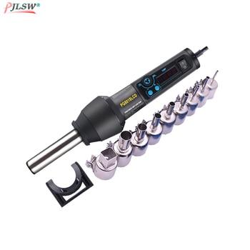650W 110/220V PG8018LCD Verstelbare Elektronische Heat Hot Air Gun Desolderen Soldeerstation IC SMD BGA + Nozzle Hot Air Blower