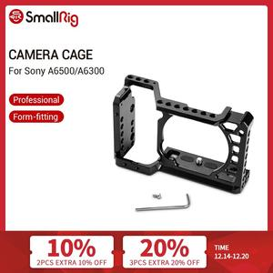 Image 1 - SmallRig For Sony A6500/A6300 Camera Cage Upgraded Version Protective Dslr Camera Rig For Sony A6500 Aluminum Alloy Cage  1889