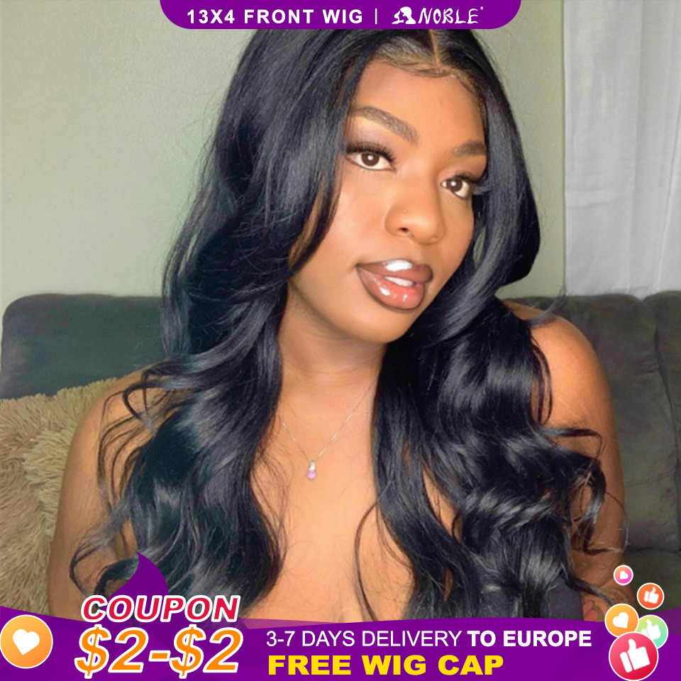 Noble 13x4 Lace Front Wig Synthetic 28 inch Long wavy ombre blonde Wigs For Women Ombre Lace Front Wig Synthetic Lace Front Wig