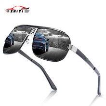 ZHIYI Anti glaring driving goggle polarized mens sunglasses Anti UV oculos outdoor cycling sports sun glasses