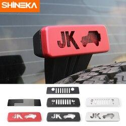 Shineka Exterieur Accessoires Voor Jeep Wrangler Jk Auto Hoge Positie Brake Achterlichten Trim Cover Voor Jeep Wrangler Jk 2007-2017