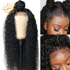 150 Density Curly Human Hair W